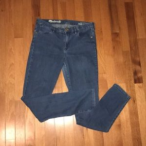 Madewell High Riser Skinny Jeans Tall
